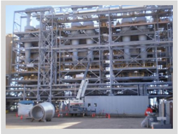 Engineering and install of Four Large Activated Carbon Furnaces by Industrial Furnace Company