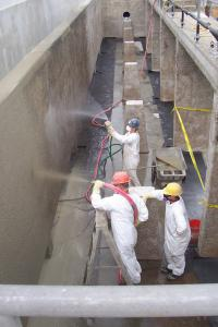 Spraying Corrosion Protection Systems